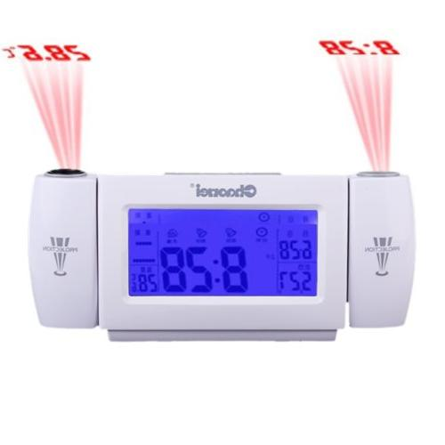 snooze dual projection alarm clock