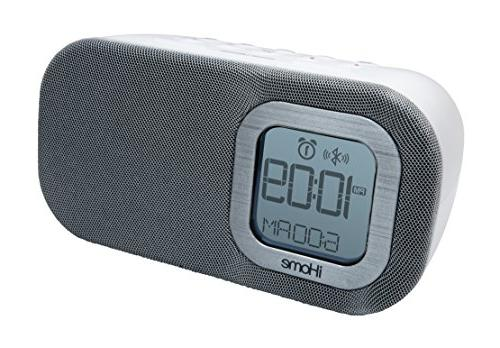 iHome iBT210WS Alarm FM with Speakerphone Charging -
