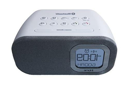 iHome iBT210WS Bluetooth Dual with and Charging -
