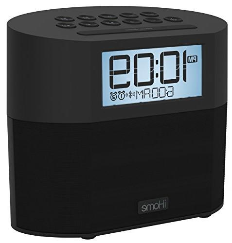 Sound Design iHome Bluetooth Dual Clock with - Powered