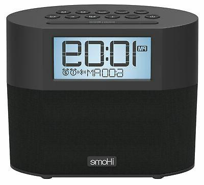 Sound Bluetooth Dual Clock & - Featuring Melody,