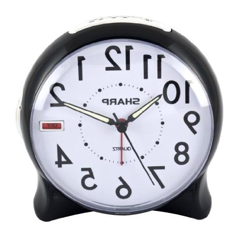 spc127a quartz analog alarm clock