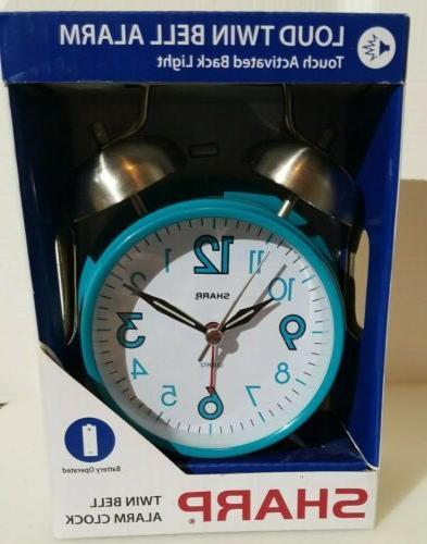 spc851 twin bell alarm clock