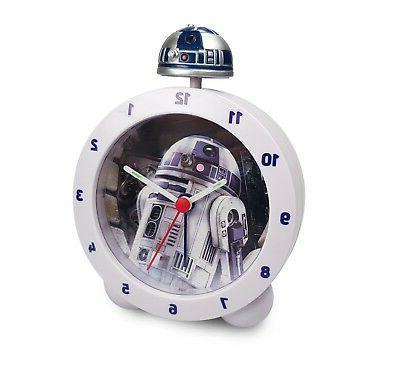 star wars r2 d2 alarm clock lights