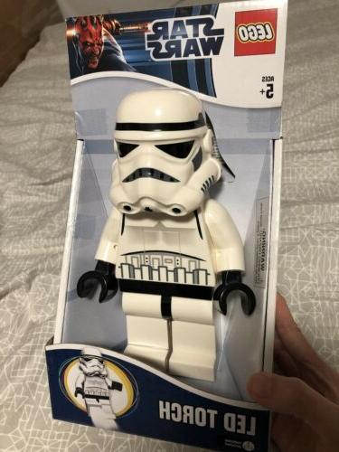 star wars stormtrooper led torch flashlight new