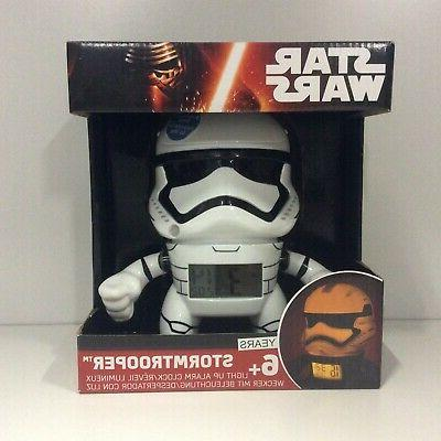 star wars stormtrooper light up alarm clock