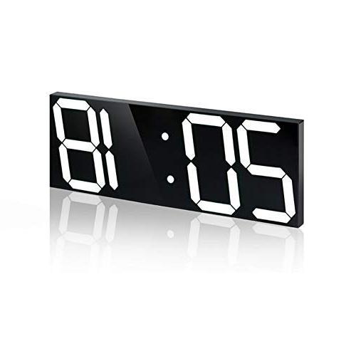 stereo clock alarm acrylic