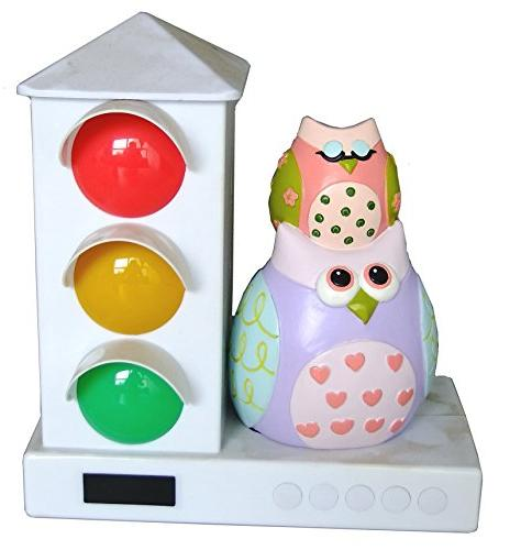 It's About Time Stoplight Sleep Enhancing Alarm Clock for Ki