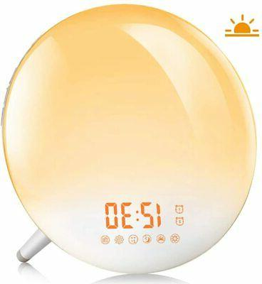 Sunrise Lamp* Snooze Function Kids* * Box