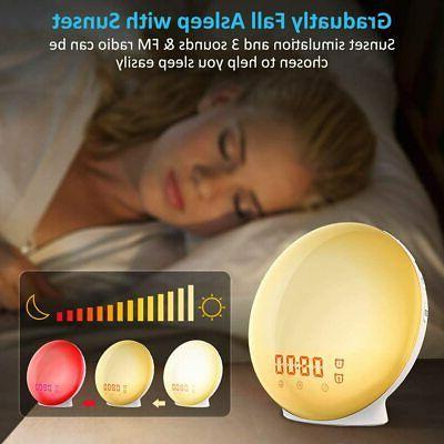 Sunrise Alarm * Lamp* Snooze Kids* * Box