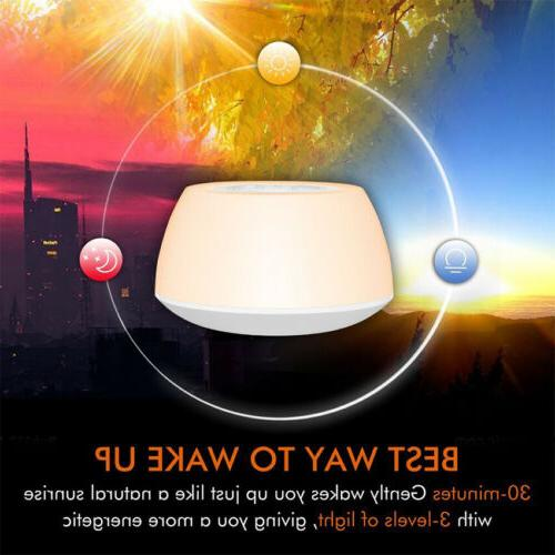 Sunrise Alarm Up Bedroom Music Therapy Lamp