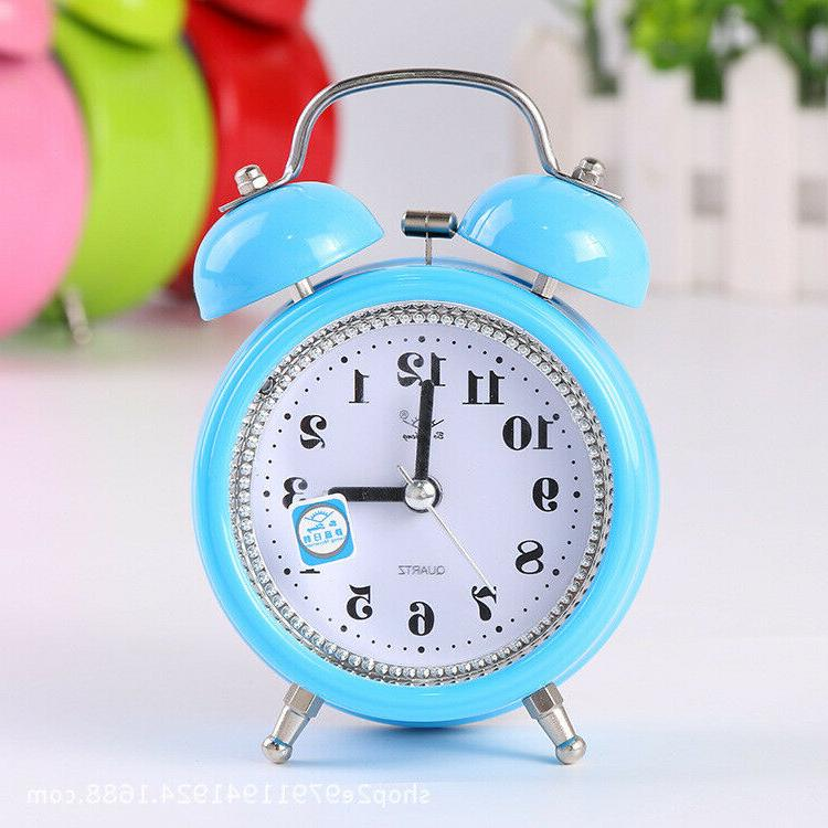 Super Quartz Clock With Night Light Room US