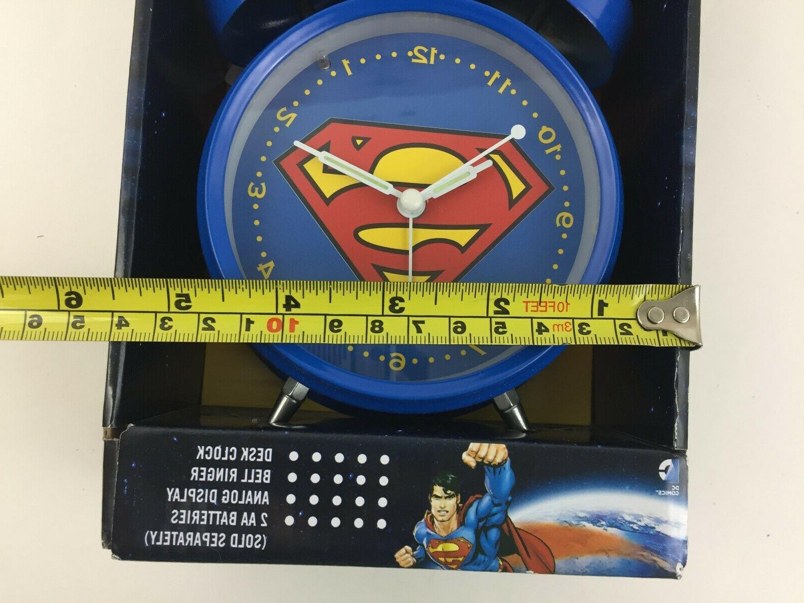 Superman DC Old School Alarm w/