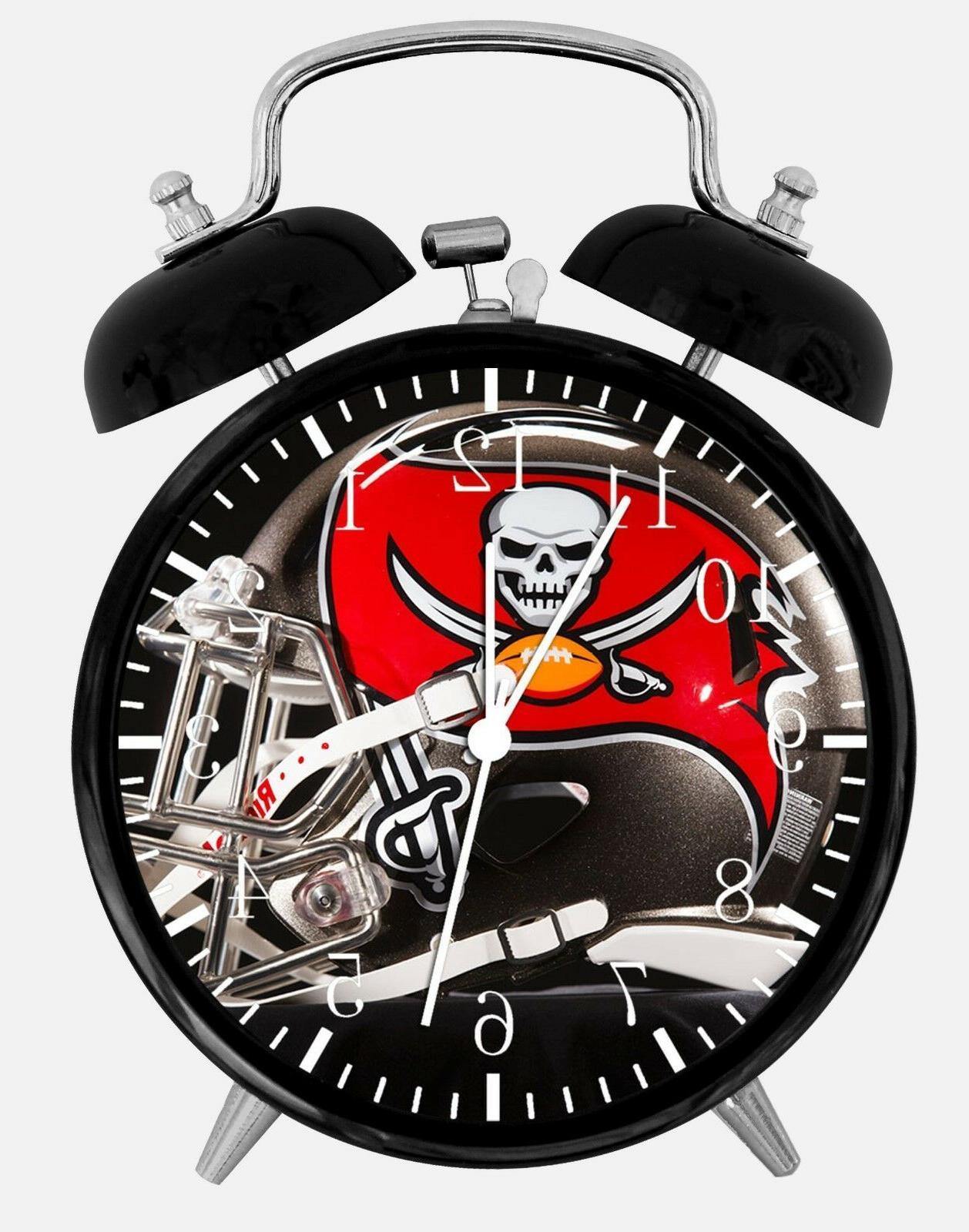 tampa bay buccaneers alarm desk clock 3