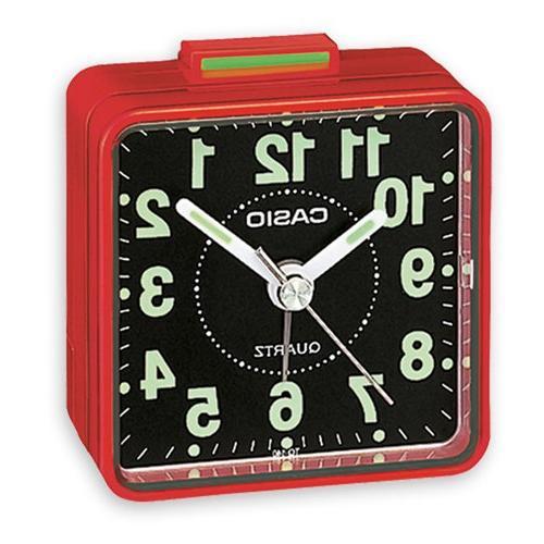 TQ140 Travel Alarm - Red