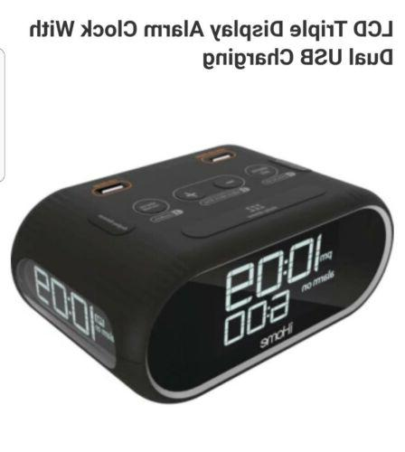 Lcd Display Clock With Charging **FAST