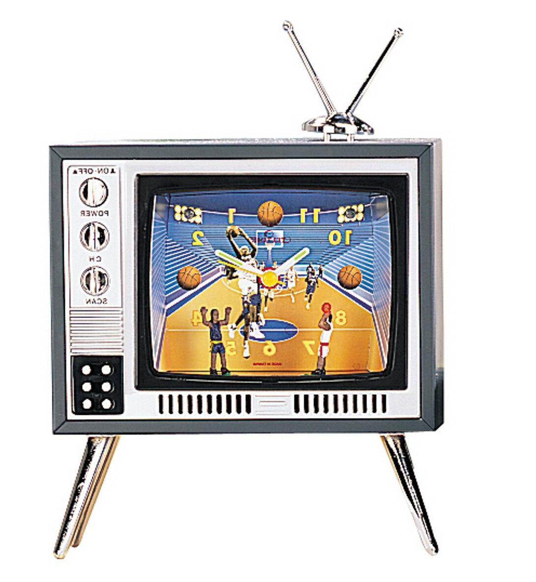 tv basketball sport style television novelty alarm