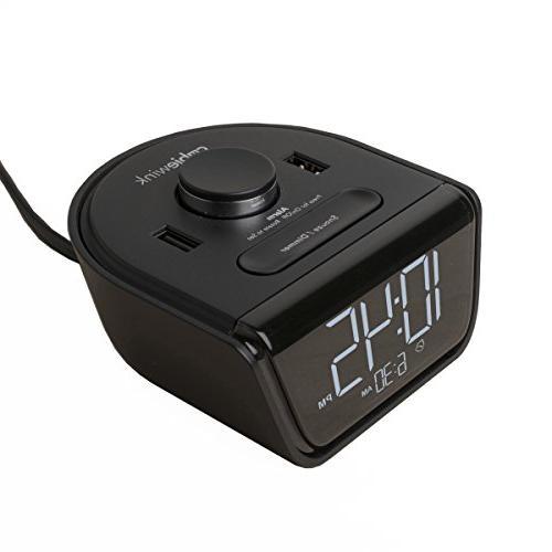 cubiewink charging alarm clock