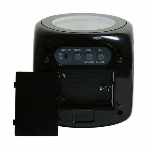 US Digital Alarm Clock Display Voice Projector