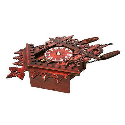 Vintage Wooden Clock Hanging