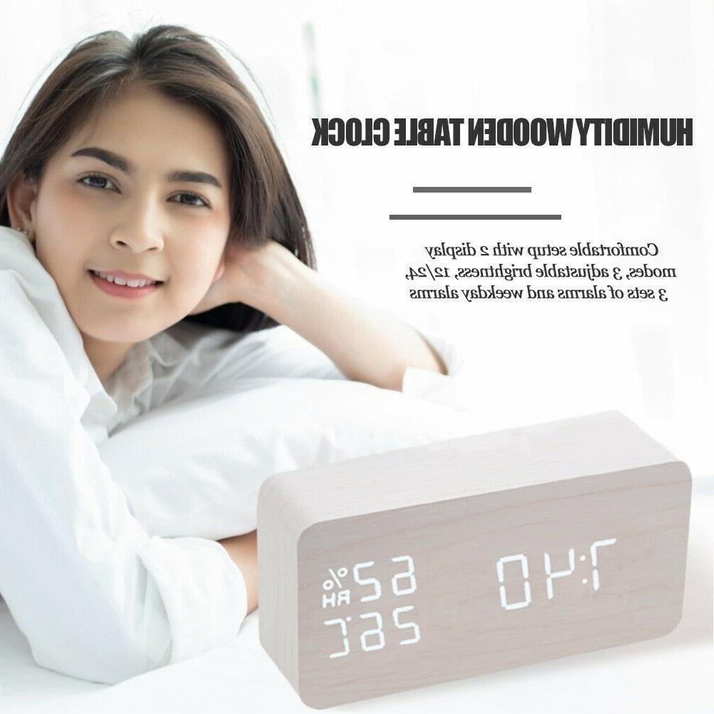 Digital Alarm Clock LED Control Clocks