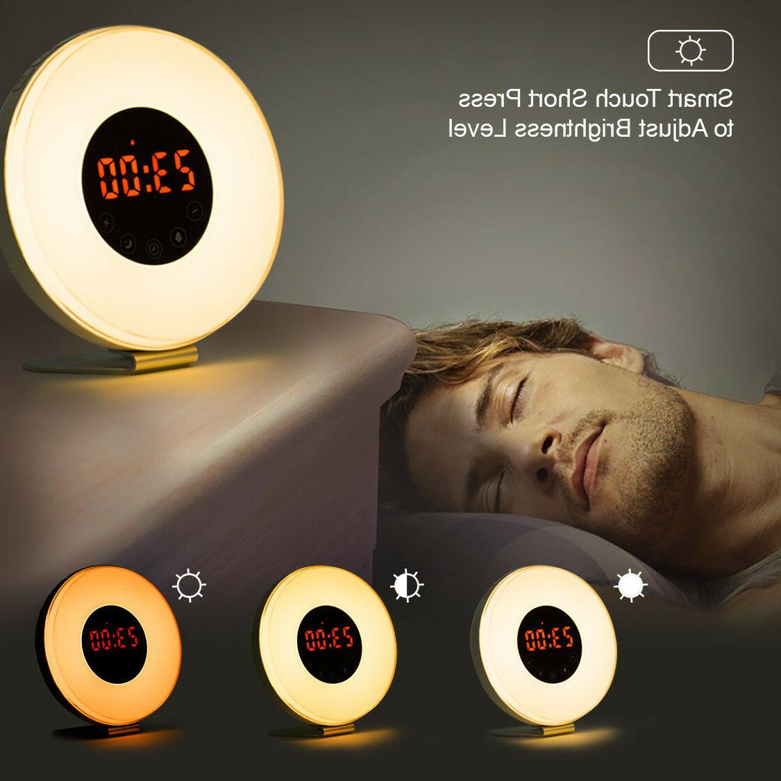 Wake Up Color Switch Radio Natural Bed