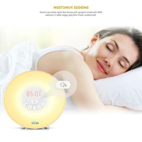 Wake Up Light Alarm Color Sunrise Natural