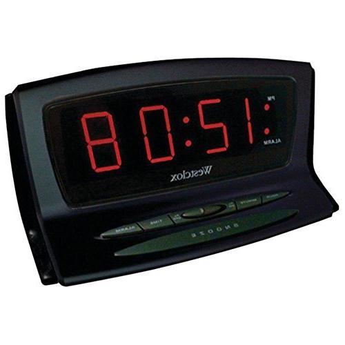 westclox 70012bk instant set alarm