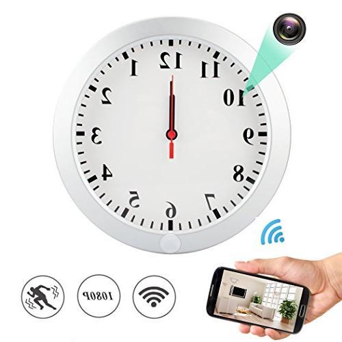 wifi spy hidden wall clock
