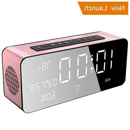wireless bluetooth alarm clock radio