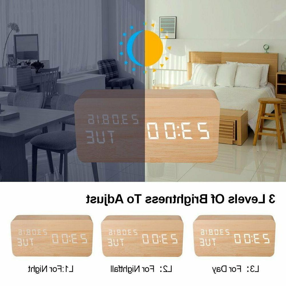 Wooden LED Electronic for