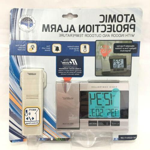 wt 5220u it atomic projection alarm clock