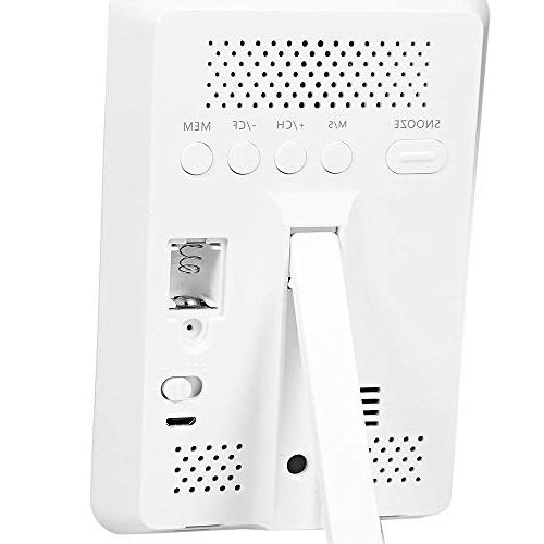 YIGEYI YGH391 Temperature Weather Station Alarm Clock Perfect one