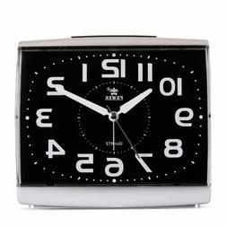 Power Large Size Non Ticking Household Alarm Clock For Bedro