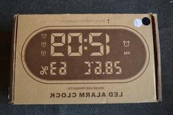 Led Alarm Clock House Use Products