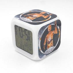 led alarm clock star wars c 3po