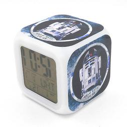 Led Alarm Clock Star Wars Robot R2-D2  Creative Digital Desk