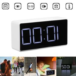 LED Digital Alarm Clock with USB Port Snooze Home Table Cloc