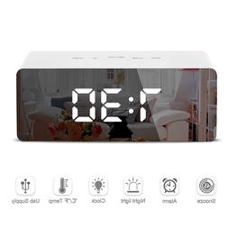 DIDIHOU LED Mirror <font><b>Alarm</b></font> <font><b>Clock<