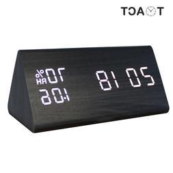 LED Wooden <font><b>Alarm</b></font> <font><b>Clock</b></fon