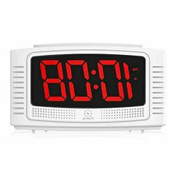 DreamSky Little Digital Alarm Clock with Snooze 1.2 Inch Cle