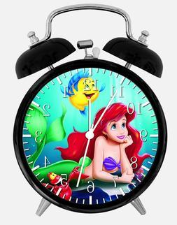 "Little Mermaid Ariel Alarm Desk Clock 3.75"" Home Office Deco"