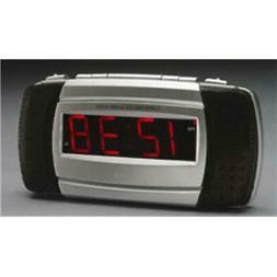 EQUITY TIME USA Loud LED Alarm Clock