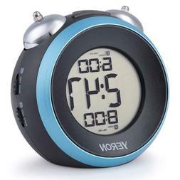 YERON Loud Alarm Clock For Heavy Sleepers Small With Snooze