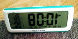 PEAKEEP Loud Alarm Clocks 5 Wake-up Sounds Battery Digital F