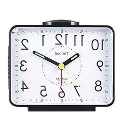 Tinload Loud Crescendo Bell Alarm Clock Silent No Ticking,Sn