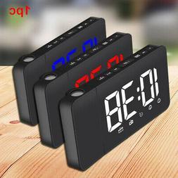 Loud Radio Function LED Display Indoor Alarm Clock Bedroom P