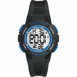 Marathon by Timex Unisex TW5K84800 Digital Mid-Size Black/Bl