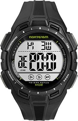 Marathon by Timex Men's TW5K94800 Digital Full-Size Black Re
