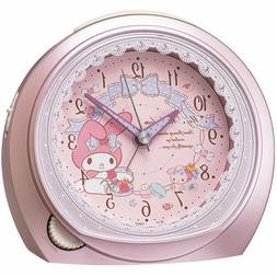 New SEIKO CLOCK Seiko clock My Melody quartz alarm clock Fro